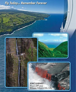 Helicopter ride on The BIg Island