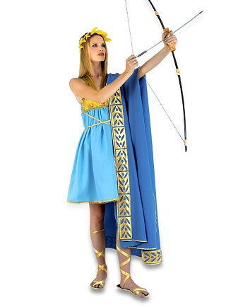 how to make a long female toga