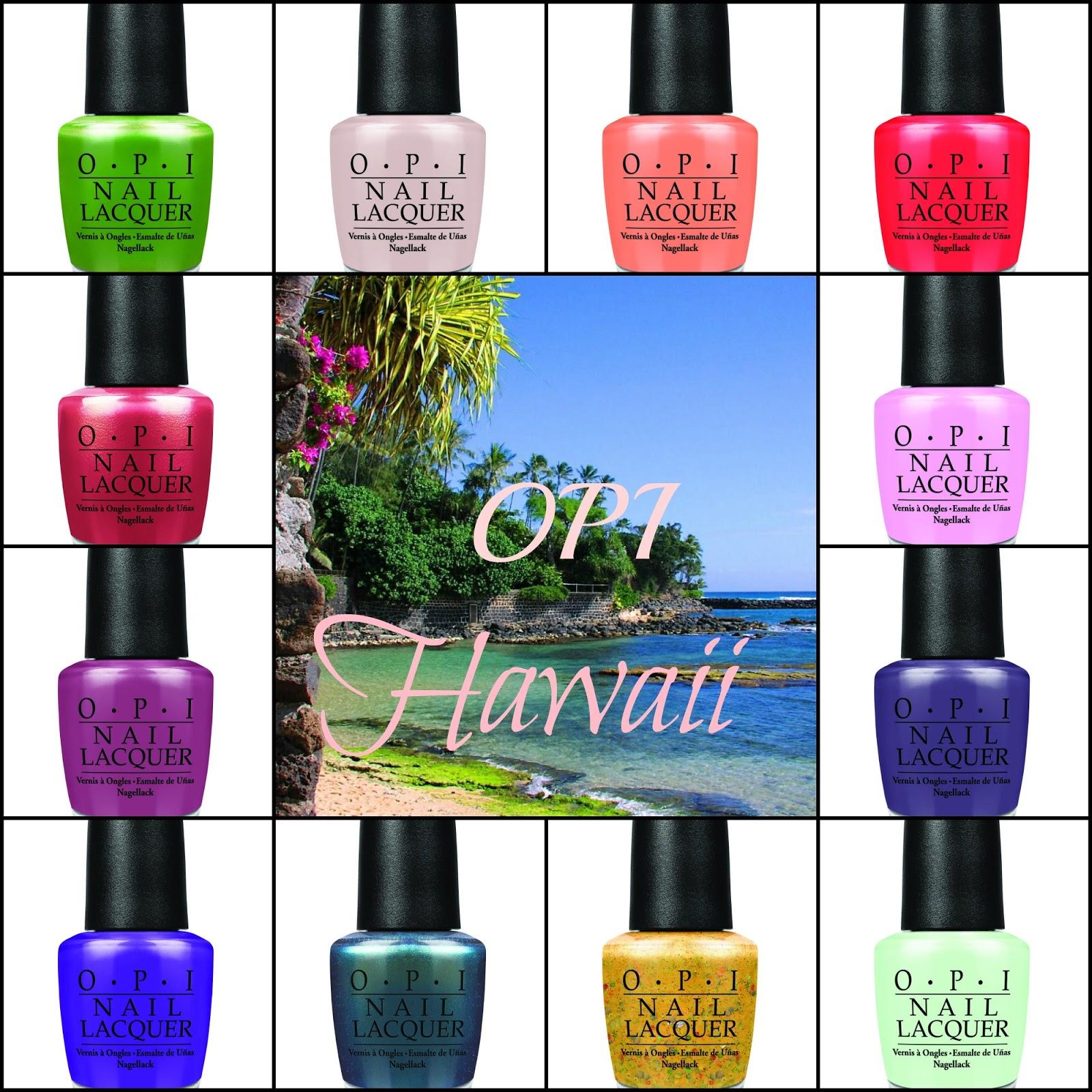 Colores de Carol: OPI - Hawaii Collection Press Release