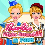 Barbie Flight Attendant In Paris | Juegos15.com