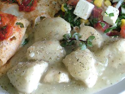 Kurczak w sosie selerowym