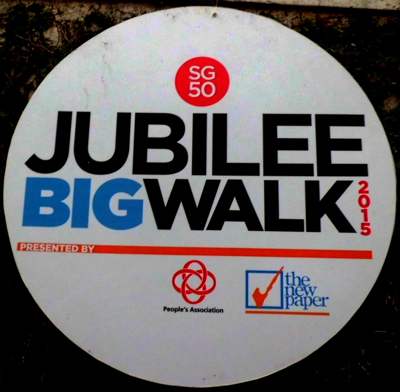 The SG50 Jubilee Big Walk went past historic and iconic sites in the Civic District. Some 25,000 people took part in the 5km mass walk, organised by The New Paper and the People's Association.
