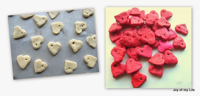 Valentine Heart-in-a-Box salt dough heart pendant kids craft washi tape matchbox jewel box
