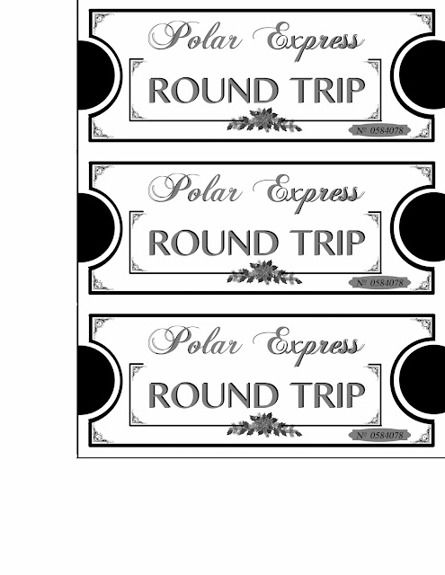 Mommy will play: Polar Express Tickets printables!