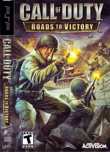 Call of Duty Roads to Victory Cover