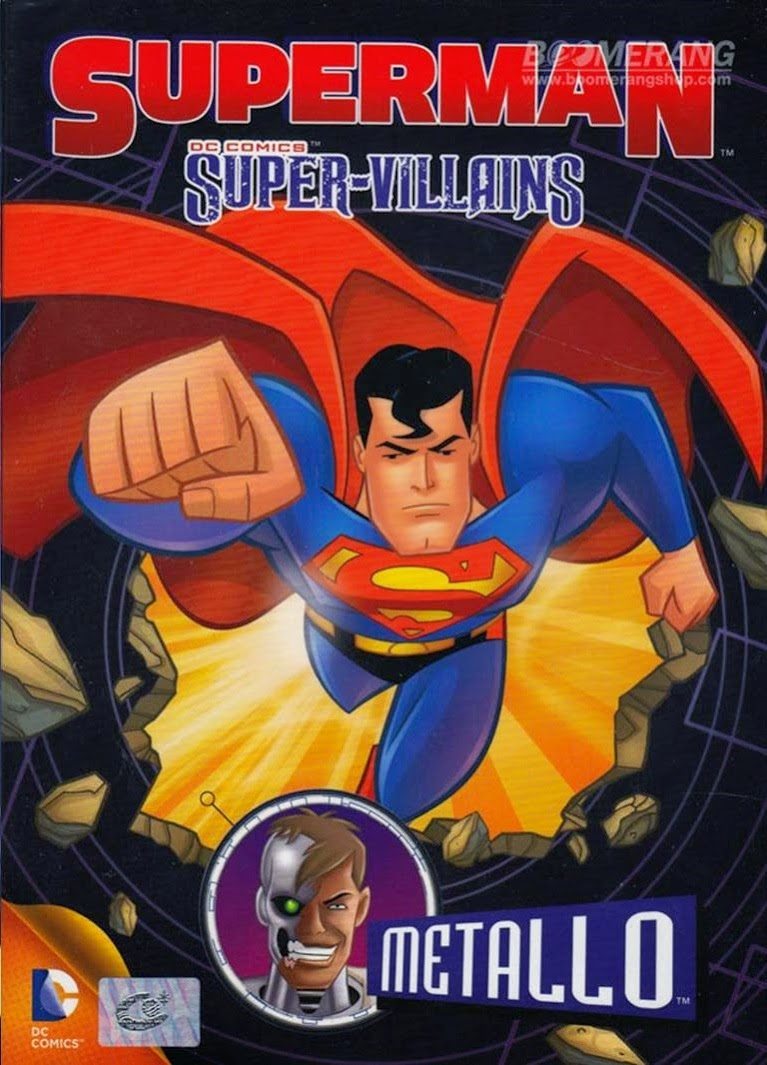 Superman Super Vilões: Metallo – Dublado (2014)