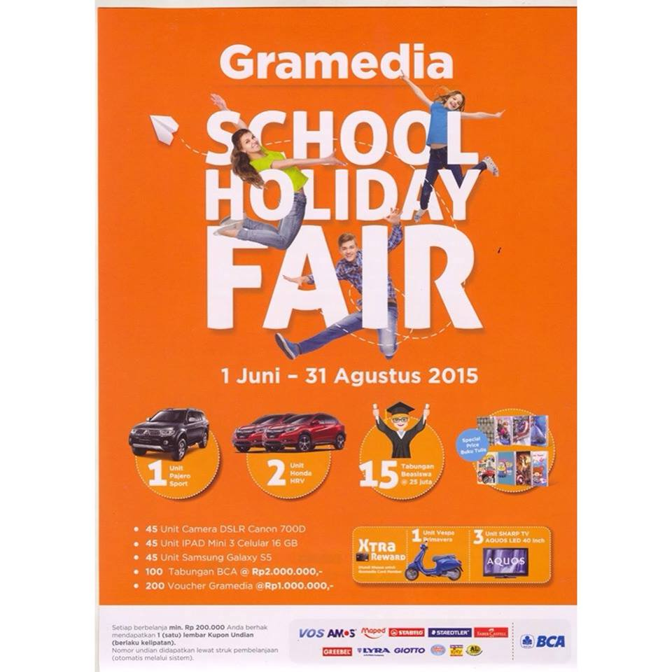 Gramedia School Holiday FAIR 2015
