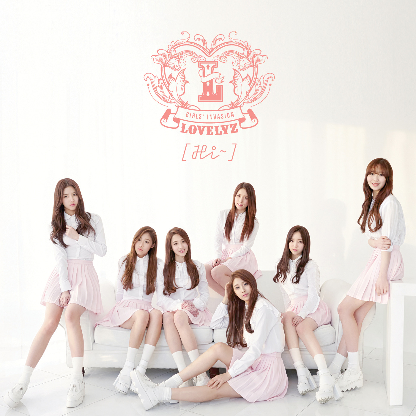 [Album] Hi~ - LOVELYZ (러블리즈) [Repackage] (mp3)