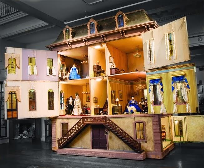 tulsa tiny stuff toy miniature museum of kansas city part 1 dollhouses. Black Bedroom Furniture Sets. Home Design Ideas
