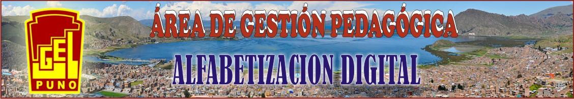 UGELPUNO ALFABETIZACION DIGITAL