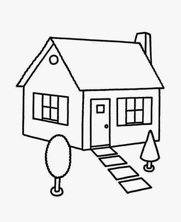 House Coloring Pages House Coloring Pages