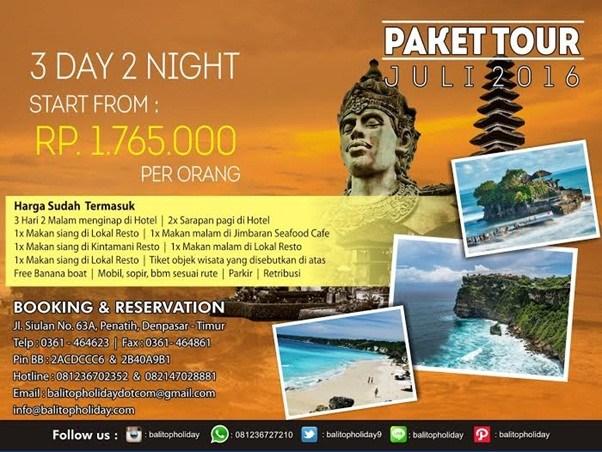 Paket Liburan ke Bali