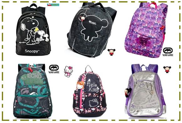 mochilas 2012 MOCHILAS 2012, preços, modelos e onde comprar Mochilas