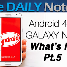 Galaxy Note 2, Android 4.4 What's New Part 5, Screen Recording, Can't Write to External SD