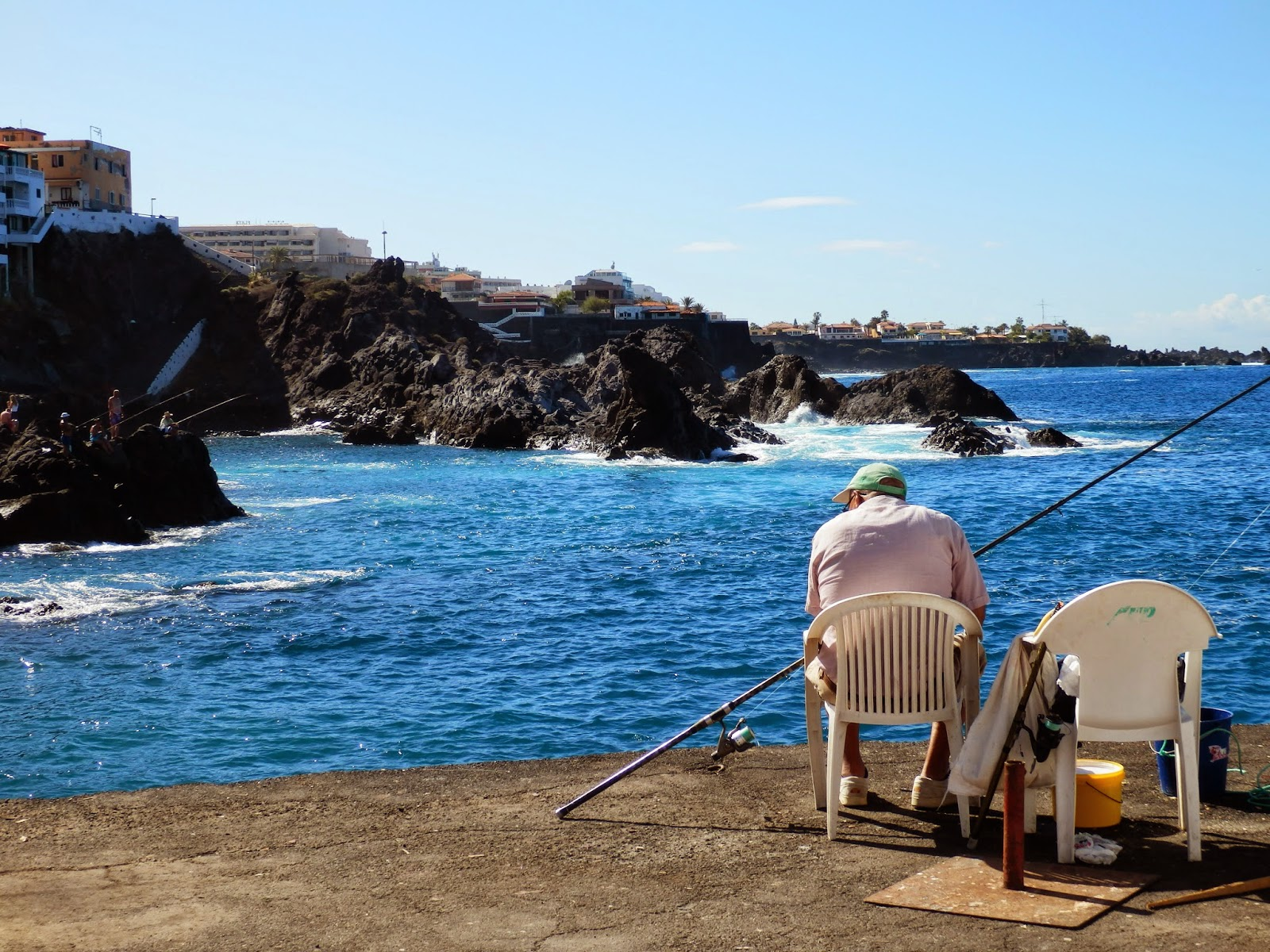 Fisherman in Tenerife