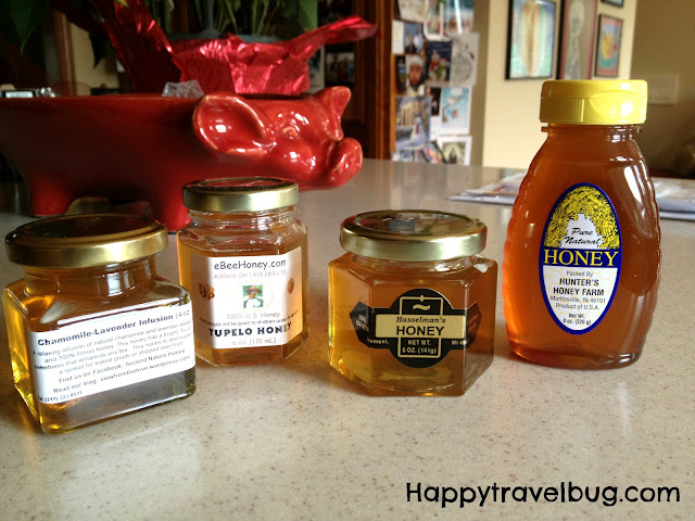 Honey from 4 states