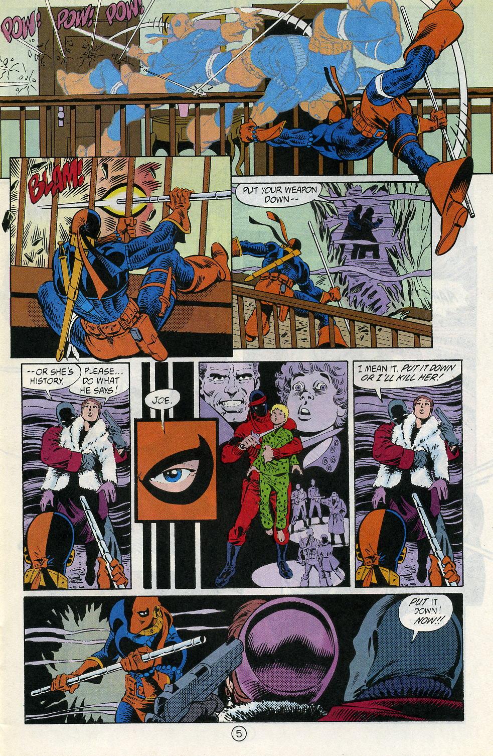 Deathstroke (1991) Issue #2 #7 - English 7