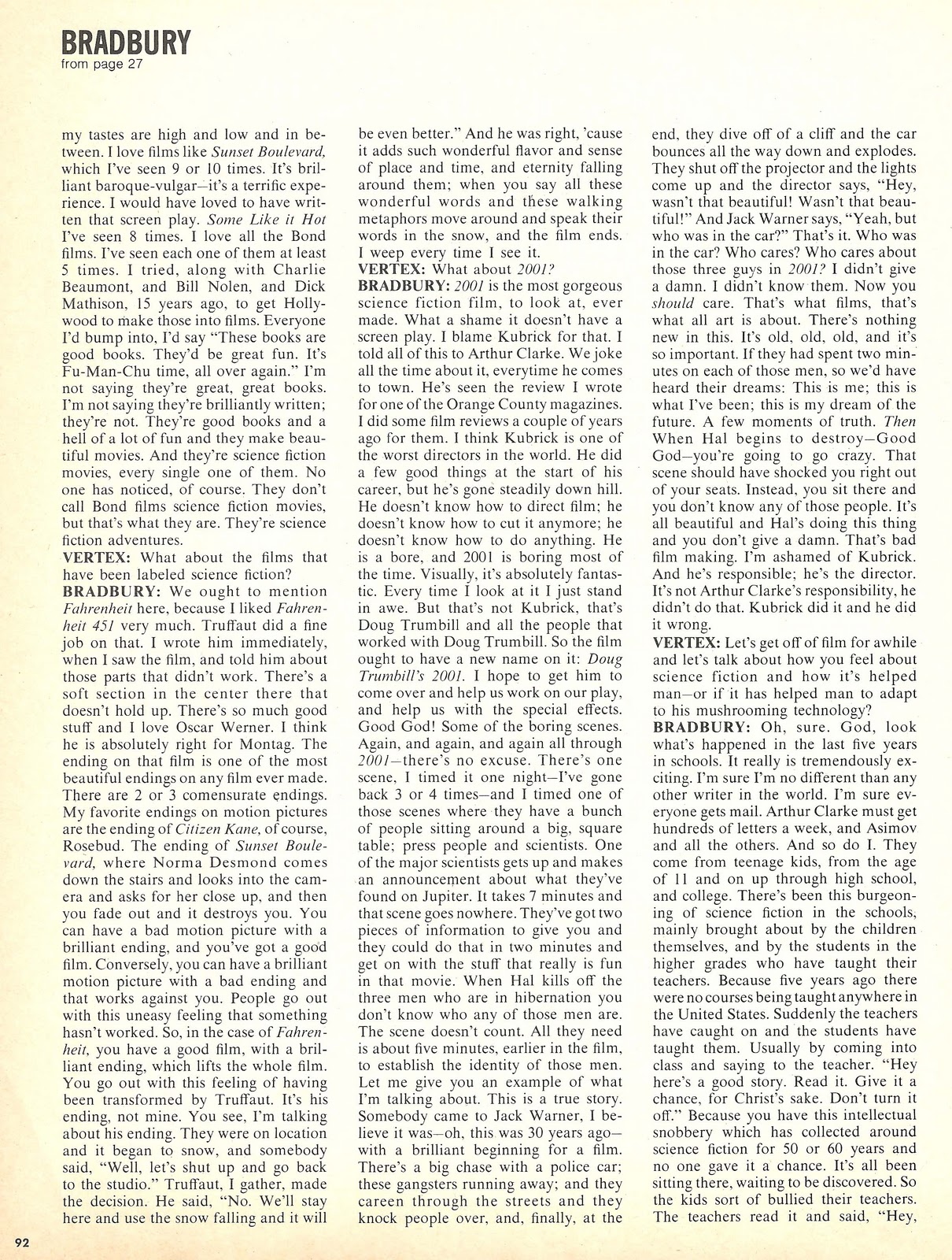 philosophy of science portal deceased ray bradbury click to enlarge for reading
