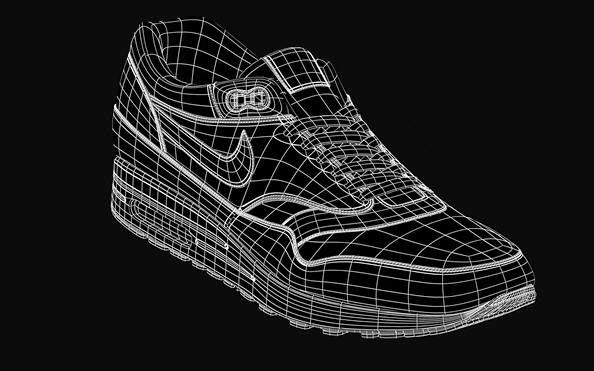 Download Nike Air Max 1 Premium 3d Model