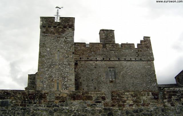 Castillo de Cahir en Irlanda
