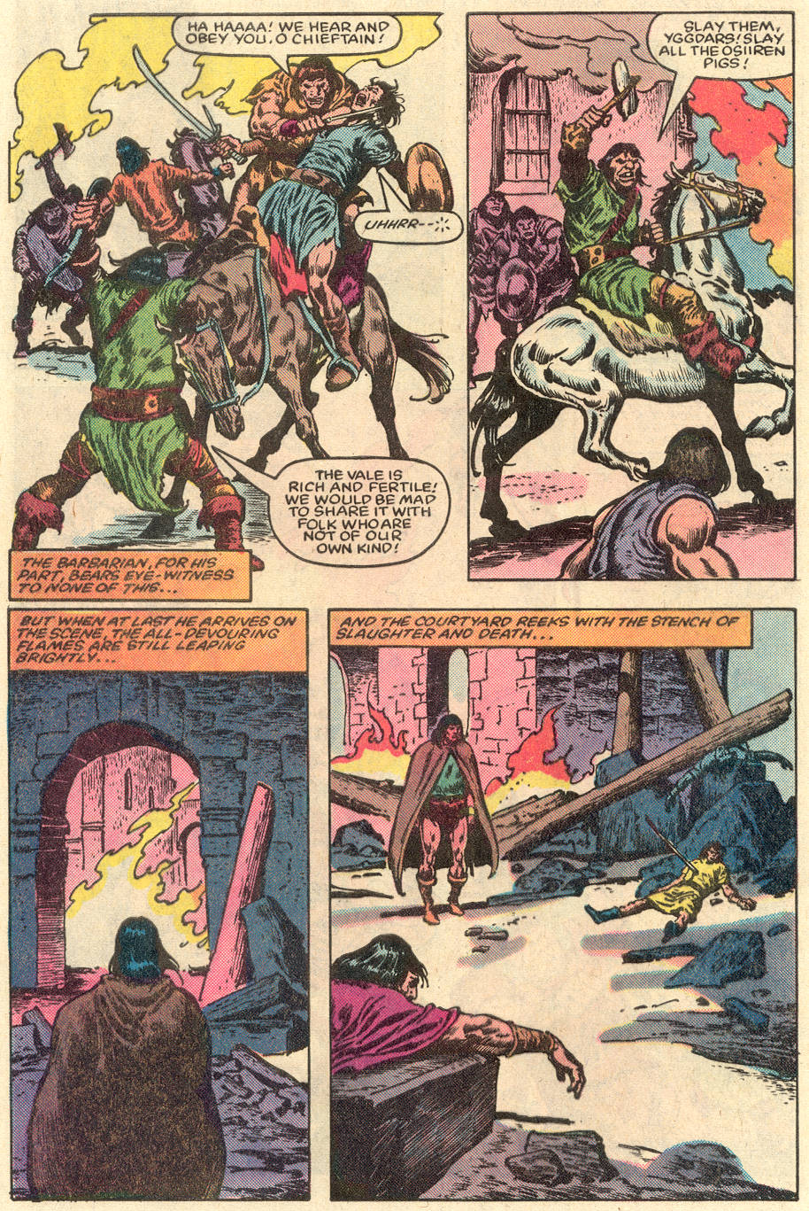 Conan the Barbarian (1970) Issue #151 #163 - English 6