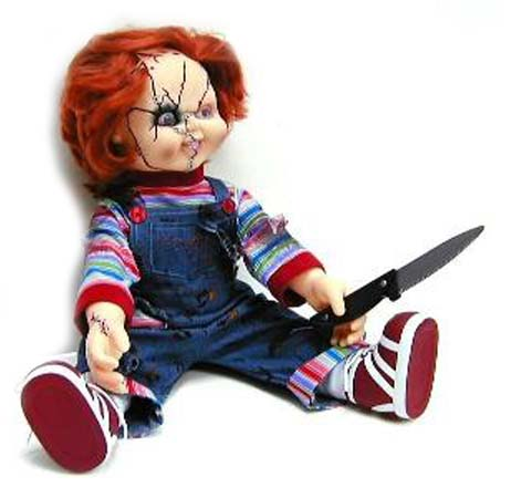 Chucky doll toys r us reanimators