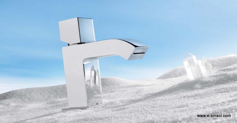 Griferia Vidrio Cascada Para Baño Diseno Elegancia:El Blog del Baño: Grifos de cascada con diseño moderno y exclusivo