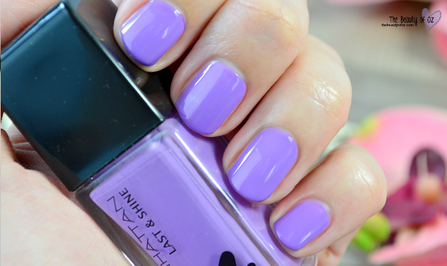 Manhattan Last And Shine Nail Polish Little Lavender 720 Swatch