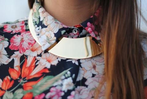 Celine Inspired Necklace Céline Inspired Gold Collar