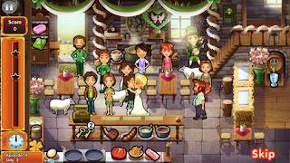 Screenshots of the Delicious: Emily's wonder wedding for Android tablet, phone.