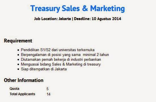 Lowongan Kerja Bank Mega di Bogor Agustus 2014  Rekrutmen