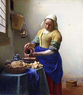 Niin kauan kuin tuo rijksmuseumin nainen...