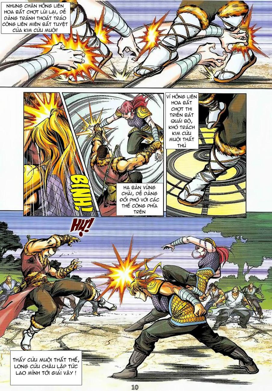 Thần Chưởng Long Cửu Châu chap 8 - Trang 10