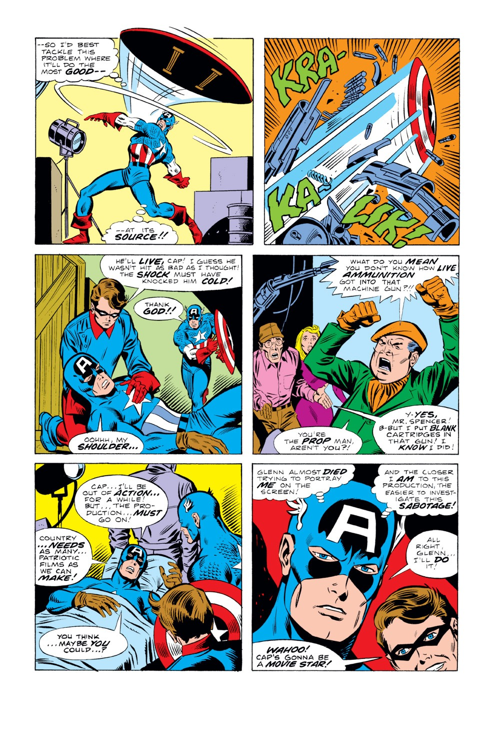 Captain America (1968) Issue #219 #133 - English 9