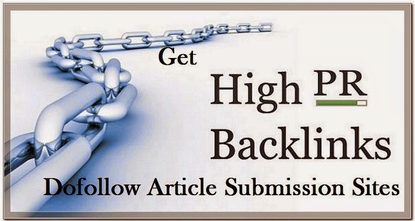 article submission sites The thing about which you should be careful is don't submit same article on hundreds of sites you can change the title and some of its contents while submitting.