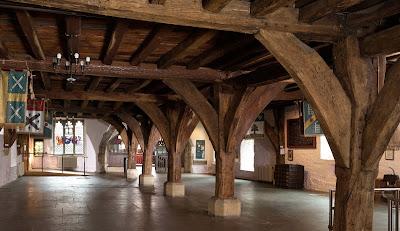 Undercroft in Merchant Adventurers' Hall