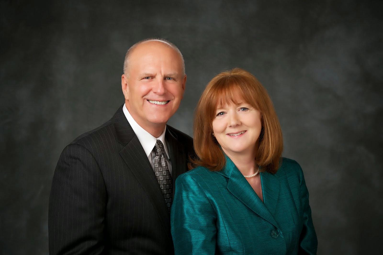 President Roger and Sister Carol Hudson