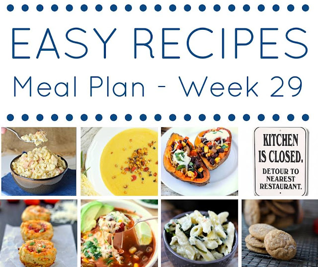 The Easy Dinner Recipes Meal Plan