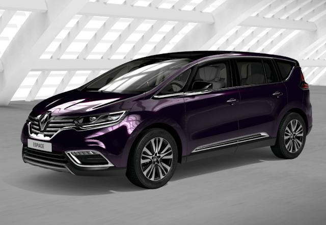 Renault Espace V 2016 Couleurs Colors