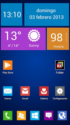 Next Launcher Theme Windows 8 .APK 1.0 Android [Full] [Gratis]