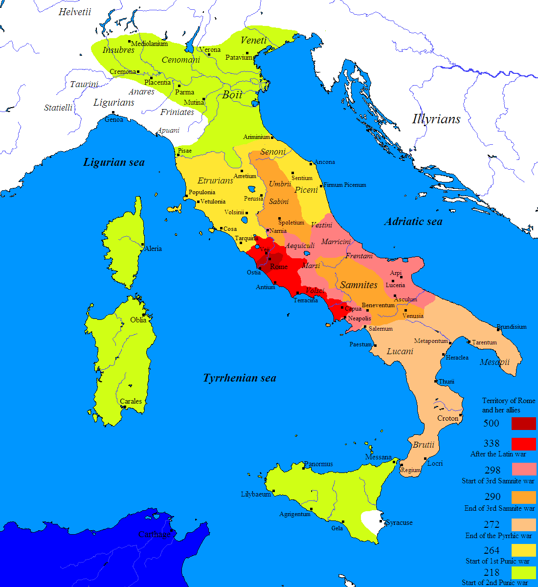 Mr.Guerriero's Blog: Ancient Rome: Maps and Geography