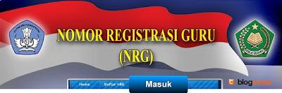 www.NRG.com: Situs Resmi Nomor Registrasi Guru