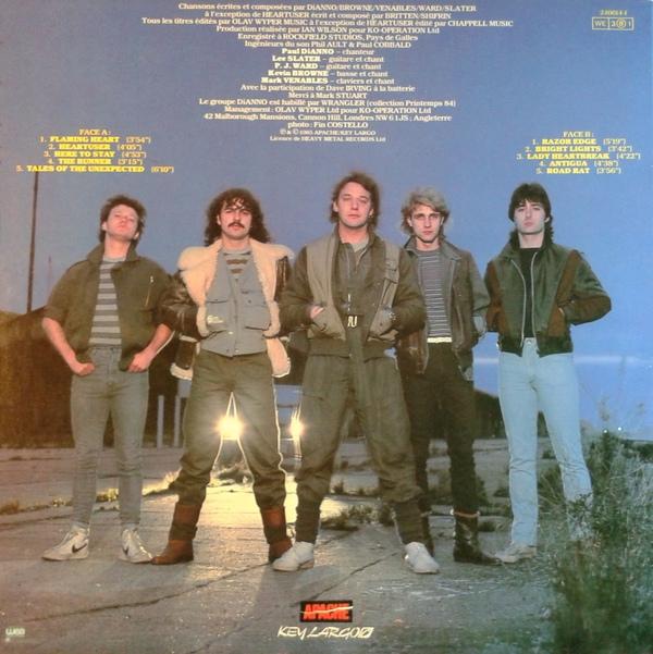 Image result for di'anno band 1984