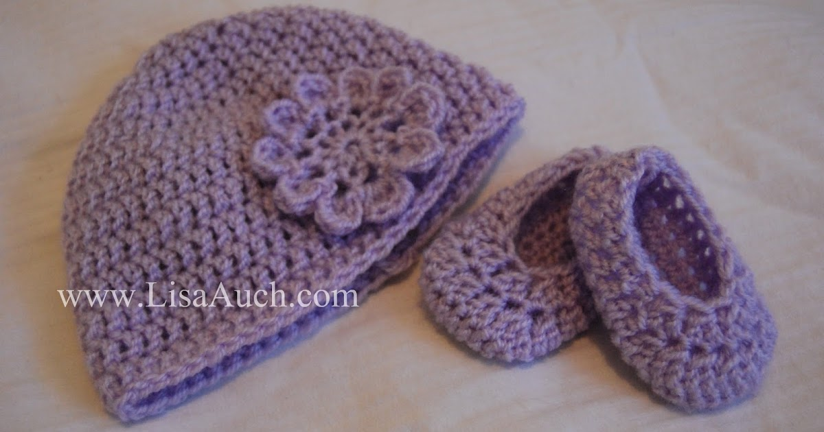 Mix Free Crochet Pattern For Baby Toddler And Child Hat Booties