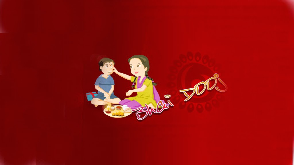 Happy Bhai Dooj Facebook Cover