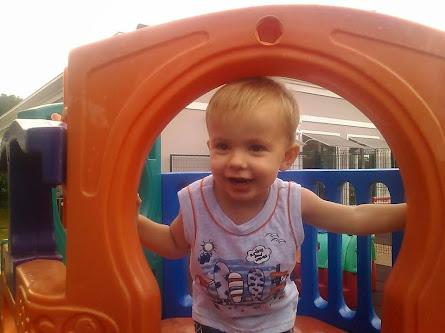 Anthony, primeiro neto!
