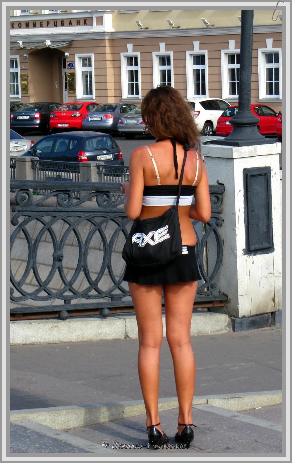 Sexy Moscow AXE Girl