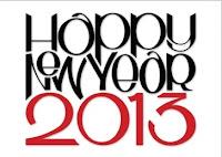 Cartão de Feliz Ano Novo 2012: Modelos Grátis para imprimir - Happy new year 2013