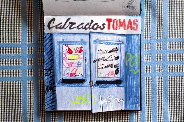 Ilustración Calzados Tomás de Anita Bonilla