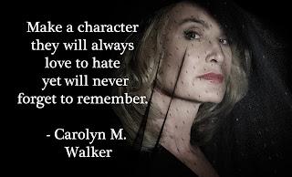 Carolyn M Walker Characters